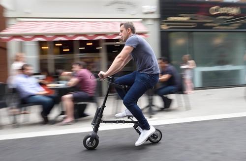 持ち運べる程に小型すぎる電動自転車が登場
